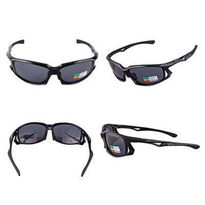 XQ-449 Защитные очки для велоспорта с поляризованными линзами Чёрный, фото 2