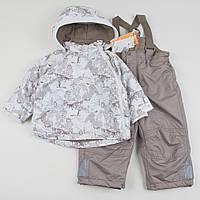 """Комбинезон зимний и куртка, комплект """"Волшебный лес"""", размер 92 см"""