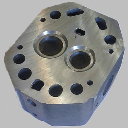 Головка цилиндра нового образца голая (R175), фото 2