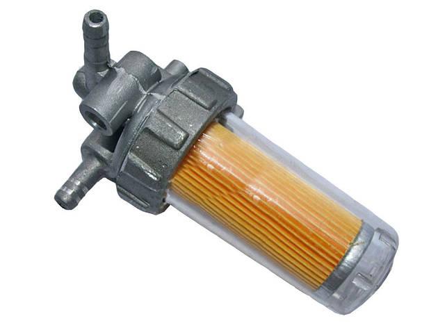 Топливный кран пластиковый стакан (R195), фото 2