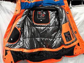 Куртка горнолыжная женская Snow Headquarter Model B-8006 Color Red/Blue, фото 2