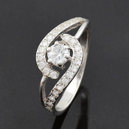"Серебряное кольцо ""Ирма"", размер 20, вес серебра 2.14 г"