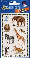 Наклейка с изображениями животных