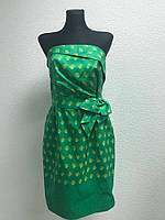 Зеленое мини платье Kate Spade