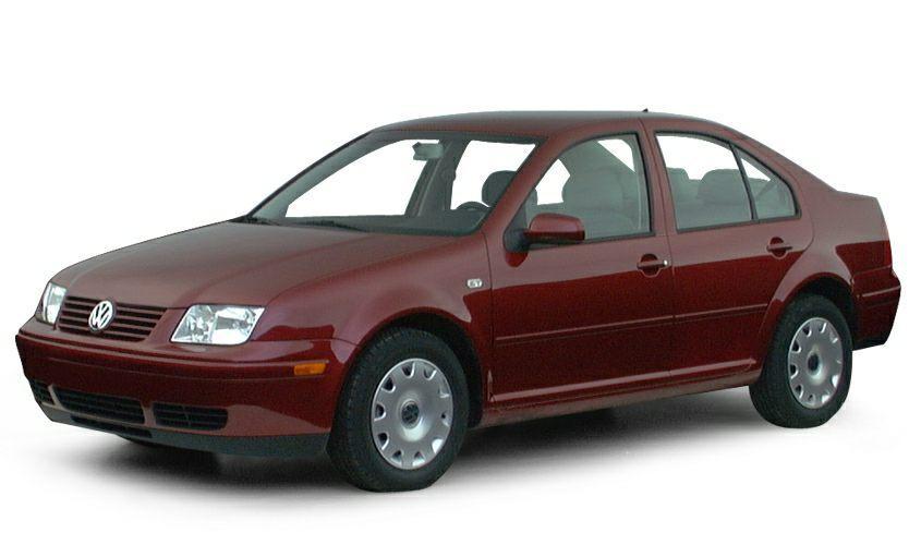 Лобовое стекло на Volkswagen Jetta/Bora (Седан) (1999-2005)