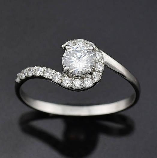 """Серебряное кольцо """"Калифорния"""", размер 20, вес серебра 1.62 г"""
