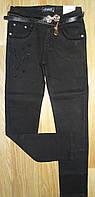 Котоновые стрейчевые брюки для девочек оптом, Seagull, 116-146 см, № CSQ-88775