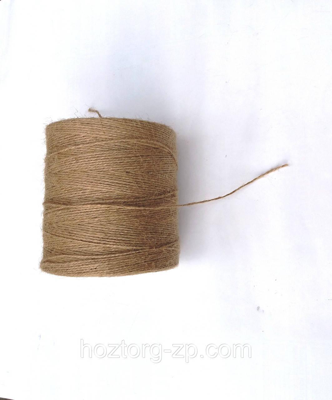 Бечёвка(нитка) джутовая декоративная