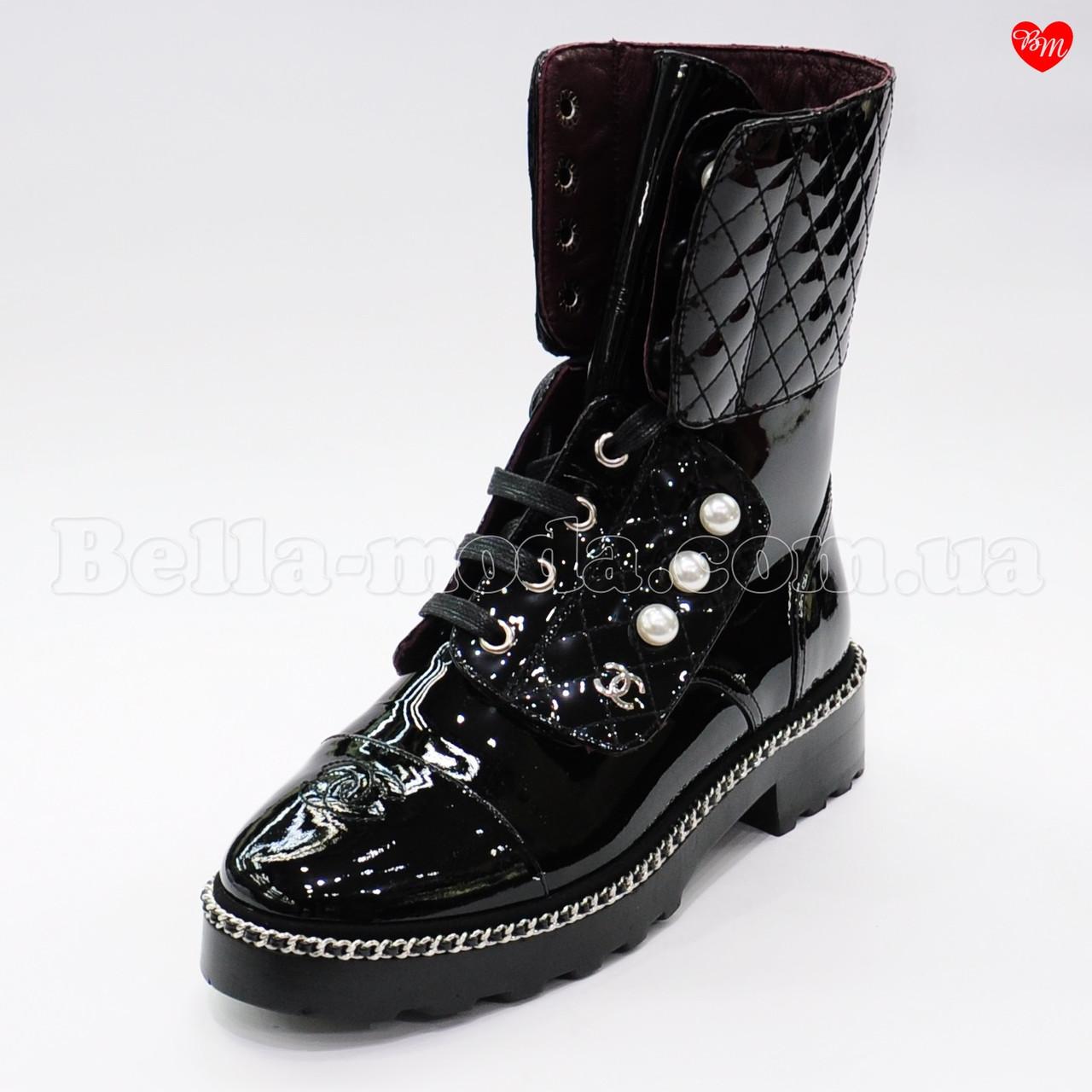 36a8383aae73 Женские высокие ботинки Chanel - интернет-магазин