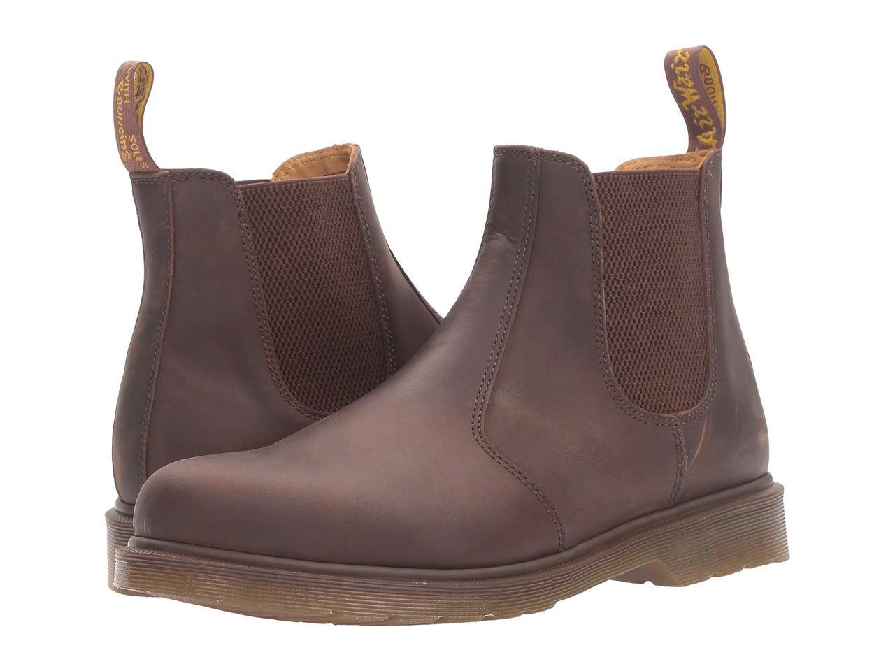 Ботинки/Сапоги (Оригинал) Dr. Martens 2976 Chelsea Boot Gaucho Crazy Horse