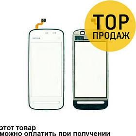 Сенсорный экран для мобильного телефона Nokia 5230, черный, AAA