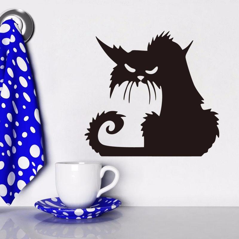 """Наклейки (стикеры)  """"Забавный кот"""" , Дизайн и декор"""