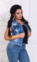 Жилетка джинсовая 333350