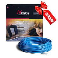 Кабель нагревательный двужильный Nexans TXLP/2R 1250Вт, 17Вт/м 7,2 - 9,1 кв.м