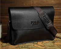 Кожаная мужская сумка Polo Videng A4