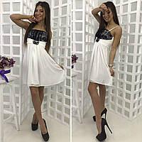 Женское платье шифоновое