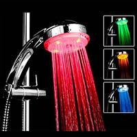 Насадка на душ подсветка для воды 4 цвета турбина. Отличное качество. Доступная цена. Дешево. Код: КГ2956