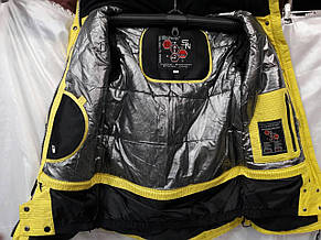 Куртка горнолыжная женская Snow Headquarter Model: B-8079 Color: Yellow, фото 2