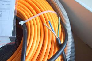 Нагревательный кабель Woks 17 для теплого пола в стяжку / под плитку.