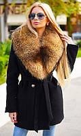 Пальто зимнее с натуральным мехом 333416-1