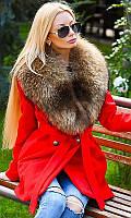 Пальто зимнее с натуральным мехом 333416-2