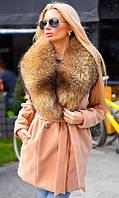 Пальто зимнее с натуральным мехом 333416-3