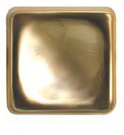 """Украшение """"Квадрат"""" 13мм, цв. золото, 11723"""