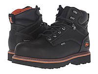 "Ботинки/Сапоги (Оригинал) Timberland PRO Ascender 6"" Alloy Safety Toe Waterproof Boot Black Full Grain Leather"