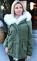 Куртка с мехом лисы 333551-8