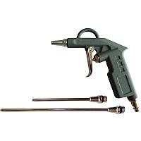 Пистолет продувочный с набором наконечников (26/122/212мм) Sigma 6831031