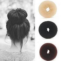 Бублик, пончик, мочалка для волос ( 7 см)