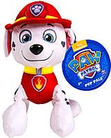 Мягкая игрушка Щенячий патруль - Маршал 25 см.