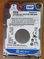 Жесткий диск HDD 2,5 WD 500 Gb Тонкий (7 мм)