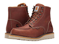 Ботинки/Сапоги (Оригинал) Carhartt 6-Inch Tan Waterproof Wedge Boot Tan Oil Tanned Leather