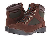 "Ботинки/Сапоги (Оригинал) Timberland Field Boot 6"" F/L Waterproof Chocolate Old River Nubuck"