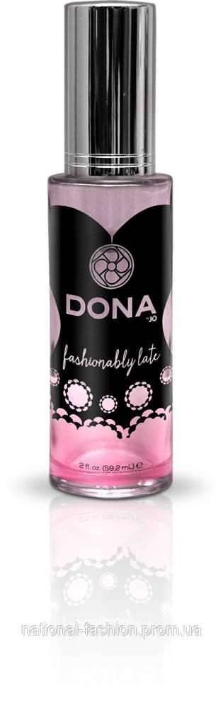 """Духи с феромонами """"Fashionably Late"""" (60 мл) DONA"""