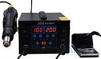 Паяльная станция Aida 862BD+ фен, паяльник, USB A 5V 2A, цифровая индикация