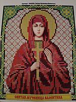 Набор для вышивки бисером икона Святая Мученица Валентина VIA 5036