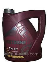 Масло моторное Mannol EXTREME 4L SAE 5W-40 API SL/CF синтетическое