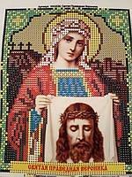Набор для вышивки бисером икона Святая Праведная Валентина VIA 5038