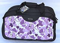 Женская дорожная сумка - сердца, фото 1