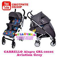 Детская Прогулочная Коляска Carrello Allegro CRL-10101, Aviation Grey