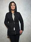Короткий зимний пуховик с  капюшоном ENYI  Размеры в наличии 42-50, фото 2