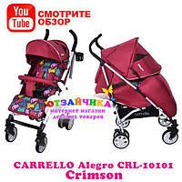 Детская Прогулочная Коляска Carrello Allegro CRL-10101, Crimson