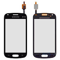 Сенсор (тачскрин) для Samsung Galaxy Trend Plus S7580 Original Black
