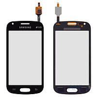 Сенсор (тачскрин) для Samsung Galaxy Trend Plus S7580 Black