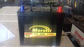 Аккумулятор Moratti 6СТ-50-АЗ (0) Asia