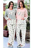 Домашняя одежда Dika Пижама женская 4555 серый S