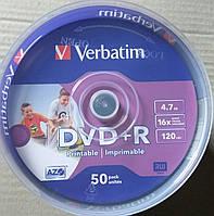 DVD +R Verbatim Wide Inkjet Printable  ( 50 шт ), фото 1