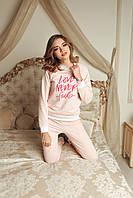 Домашній костюм піжама Рожева Love Never Fails